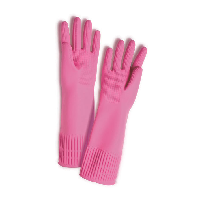 Extra Long Heavy Duty Rubber Gloves Cosway