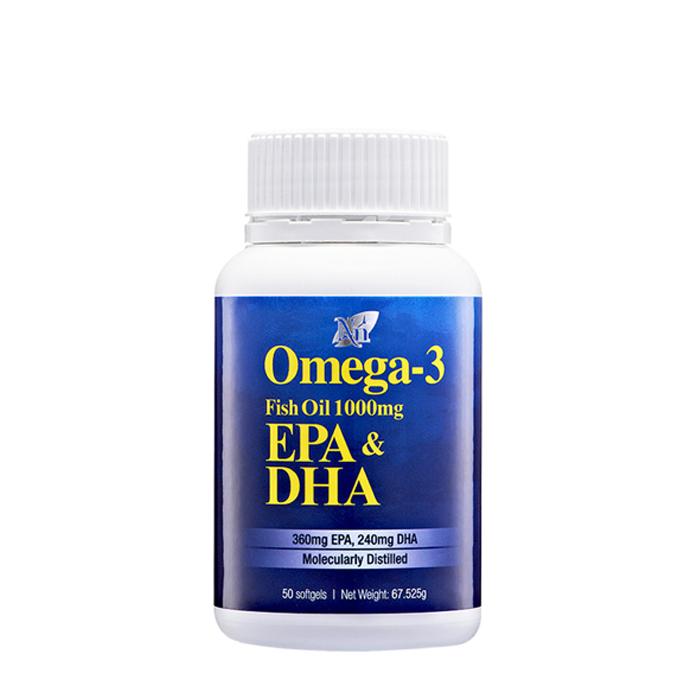 Omega 3 fish oil 1000mg cosway for Fish oil vs omega 3