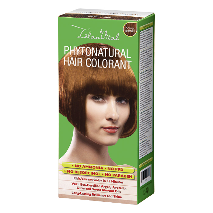 Phytonatural Hair Colorant Trendy Colour Copper Bronze Cosway