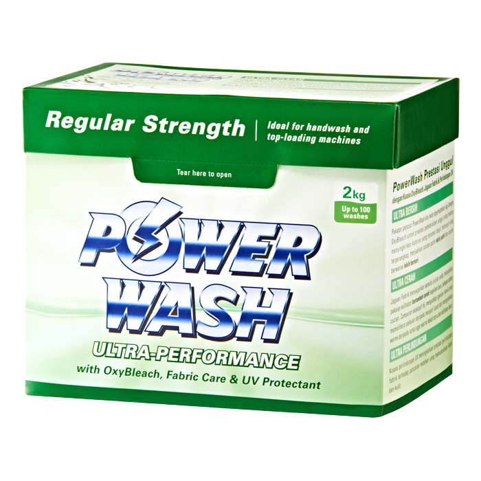 PowerWash Ultra Regular Strength 2kg 2kg