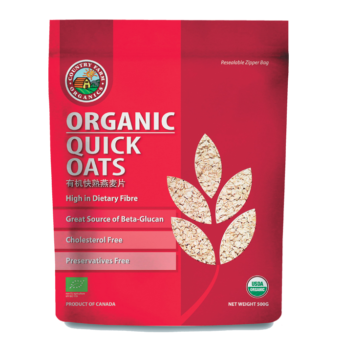Organic Quick Oats Cosway