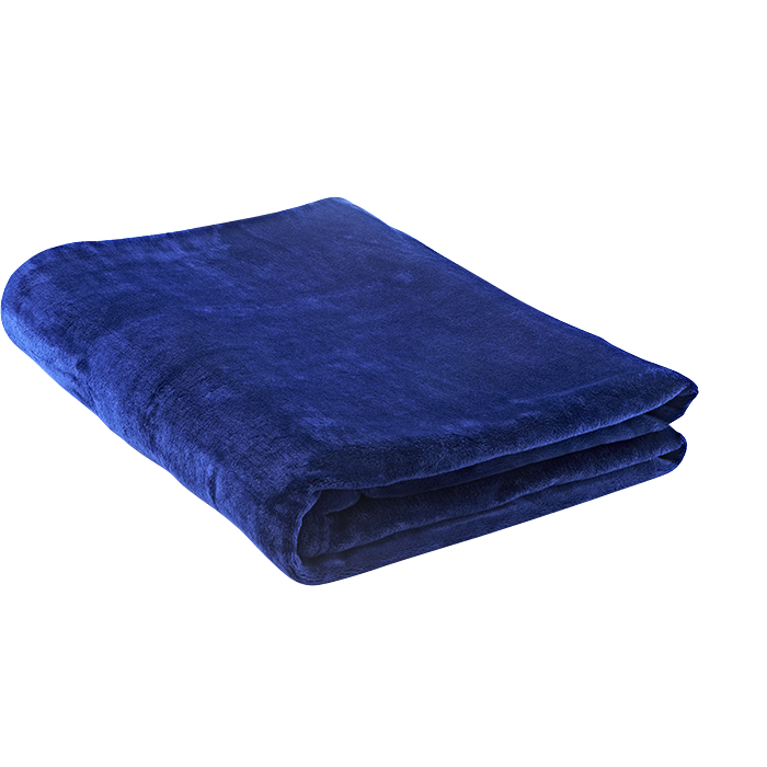 Flannel Fleece Blanket Blue Cosway