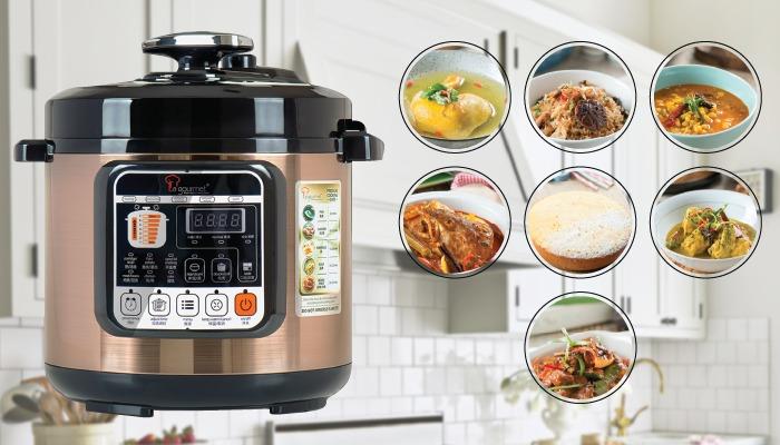 la gourmet pressure cooker - cosway